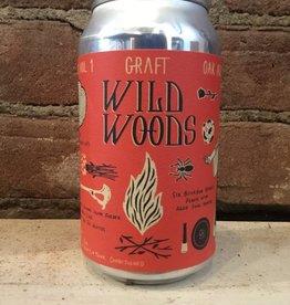"""Graft Grim Wilderness """"Wild Woods"""" Cider, 12oz Can"""