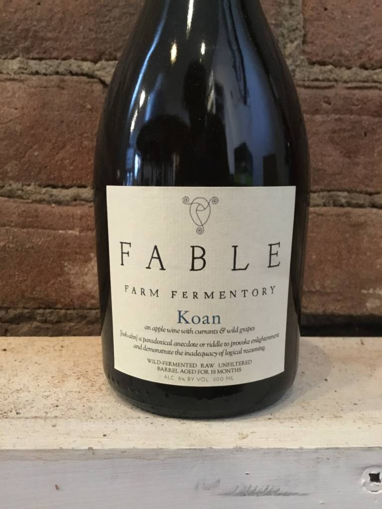 Fable Farm Fermentory Koan Cider, 500ml