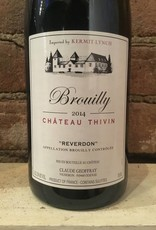 2014 Chateau Thivin Brouilly,750ml