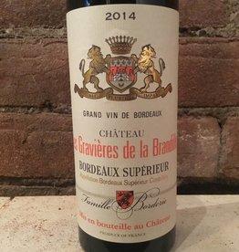 2014 Chateau les Gravieres de la Brandille Bordeaux Rouge, 375ml