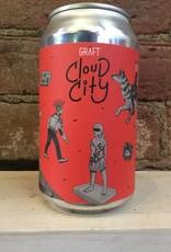 """Graft Cloud City """"Crimson District"""" Cider, 12oz Can"""