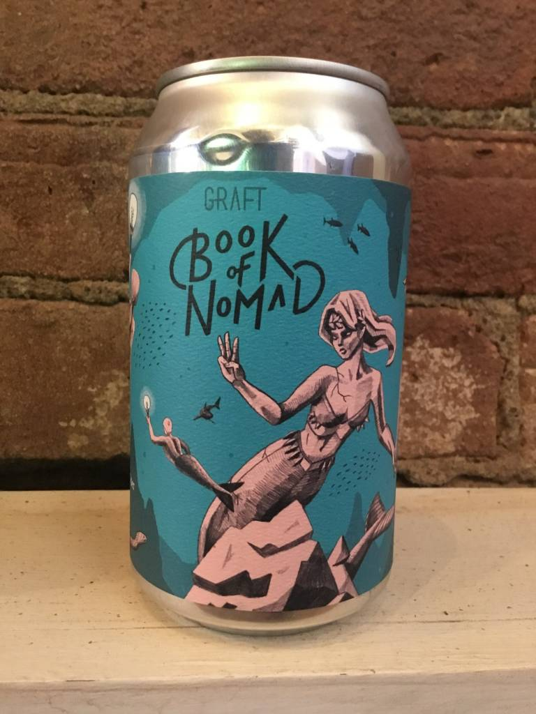"""Graft Book of Nomad """"Cavern of the Ancients"""" Cider, 12oz Can"""