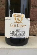 2016 Karl Loewen Longuicher Herrenberg Riesling Kabinett, 750ml