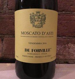 2016 De Forville Moscato D'Asti, 750ml