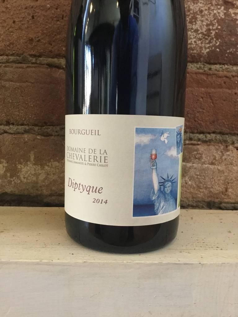 """2014 Domaine de la Chevalerie """"Diptyque Incroyable"""" Bourgueil, 750ml"""