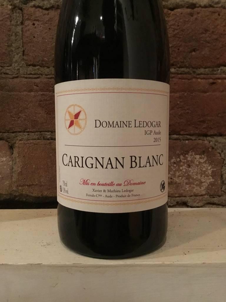 2015 Domaine Ledogar IGP Aude Carignan Blanc, 750ml