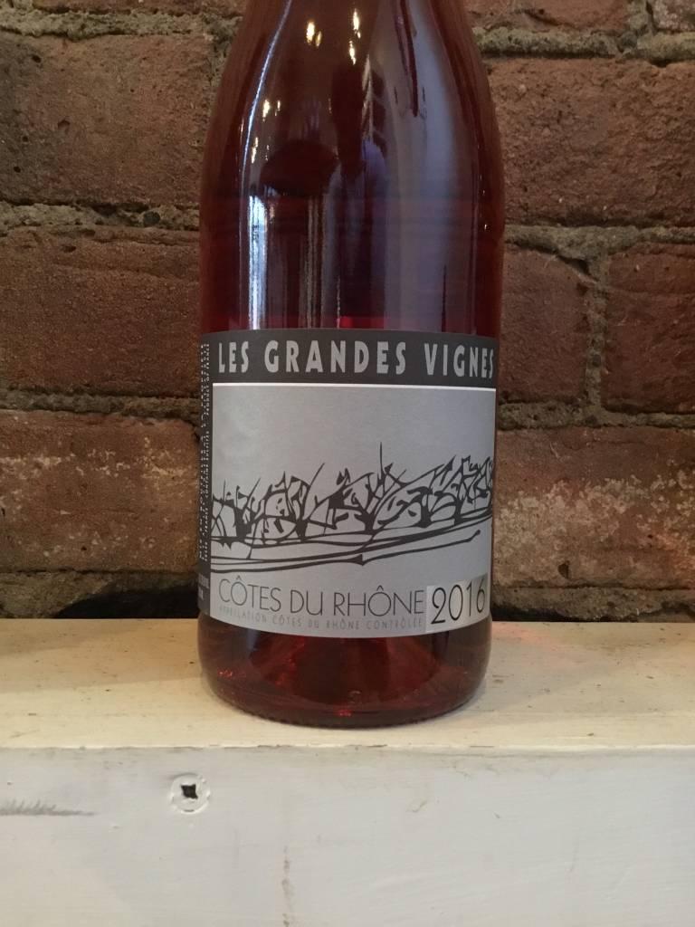 2016 Estezargues Grandes Vignes Cotes du Rhone Rose,750ml
