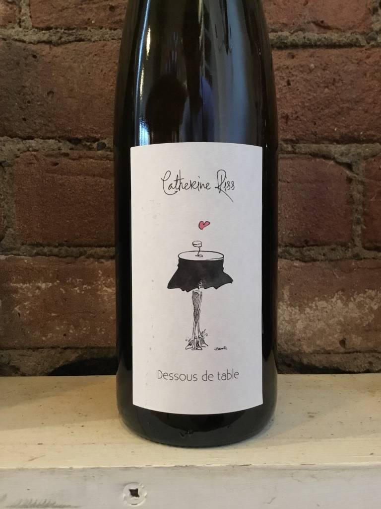 2016 Catherine Riss Dessous de Table Vin D'Alsace,750ml
