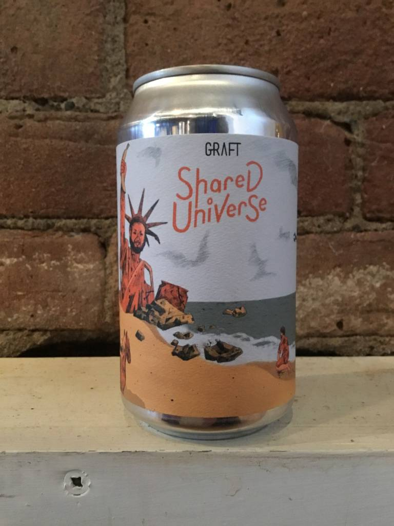 """Graft Shared Universe """"Banana Them All to Hell!"""" Cider, 120z Can"""