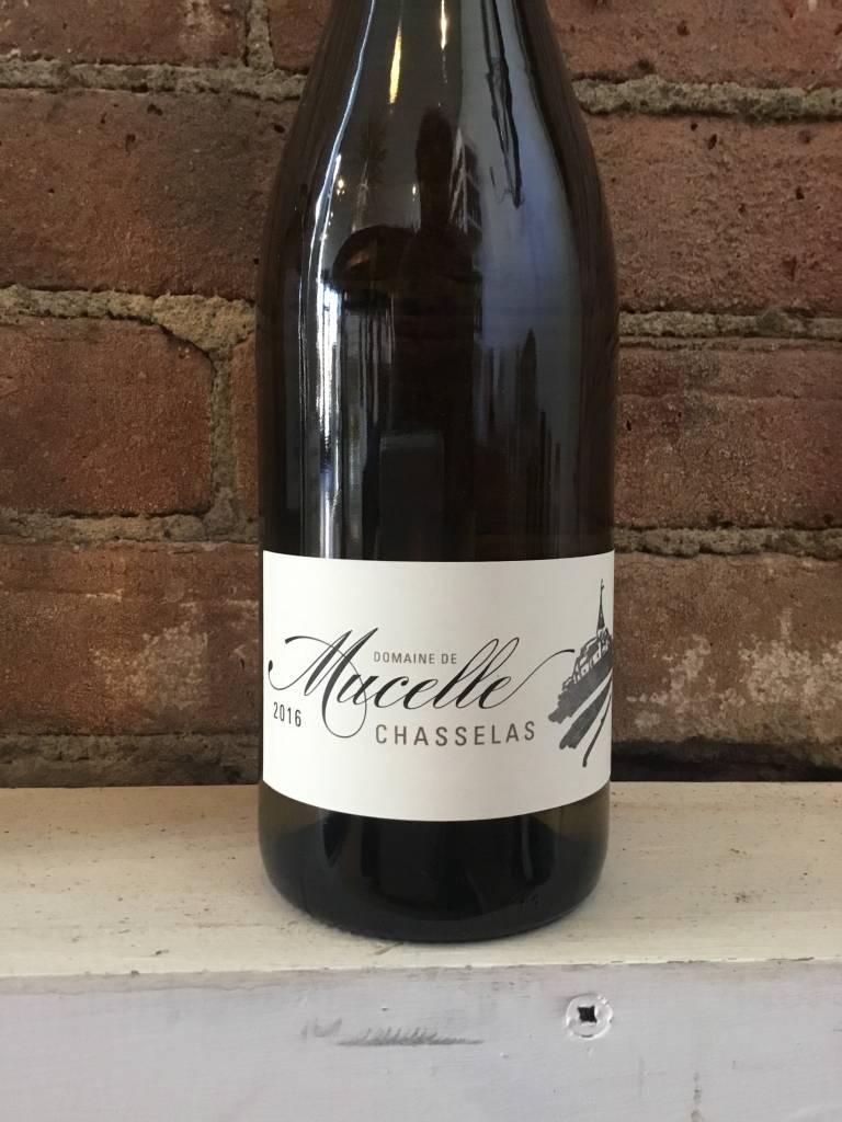 2016 Domaine de Mucelle Vin de Coteaux L'Ain Chasselas,750ml