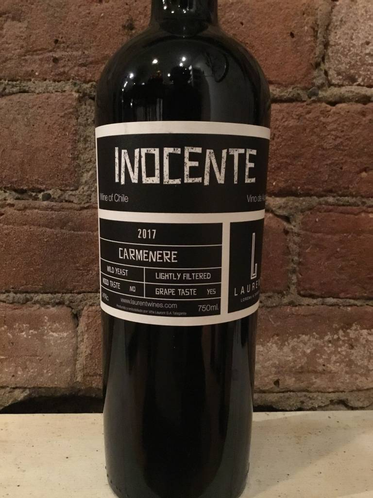 "2017 Laurent Family ""Inocente"" Carmenere, 750ml"