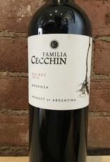 2016 Familia Cecchin Mendoza Malbec, 750ml