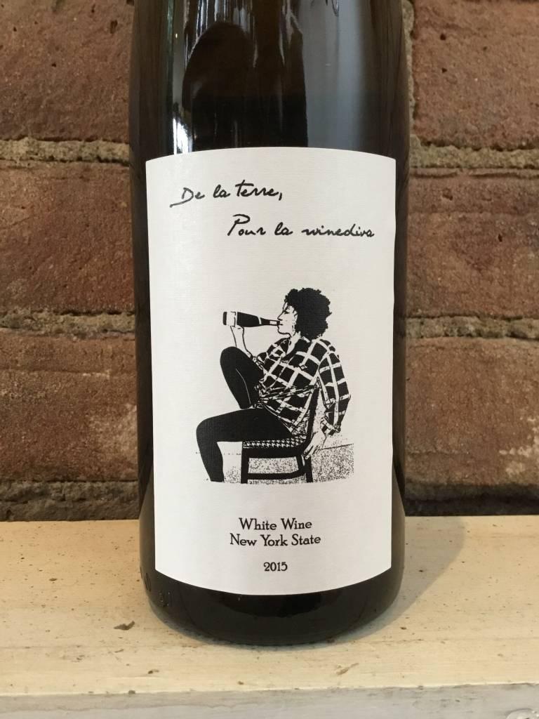 "2015 Liten Buffel ""De La Tere Pour La Wine Diva"" White, 750ml"