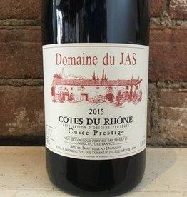 2015 Domaine du Jas Cotes du Rhone Cuvee Prestige, 750ml