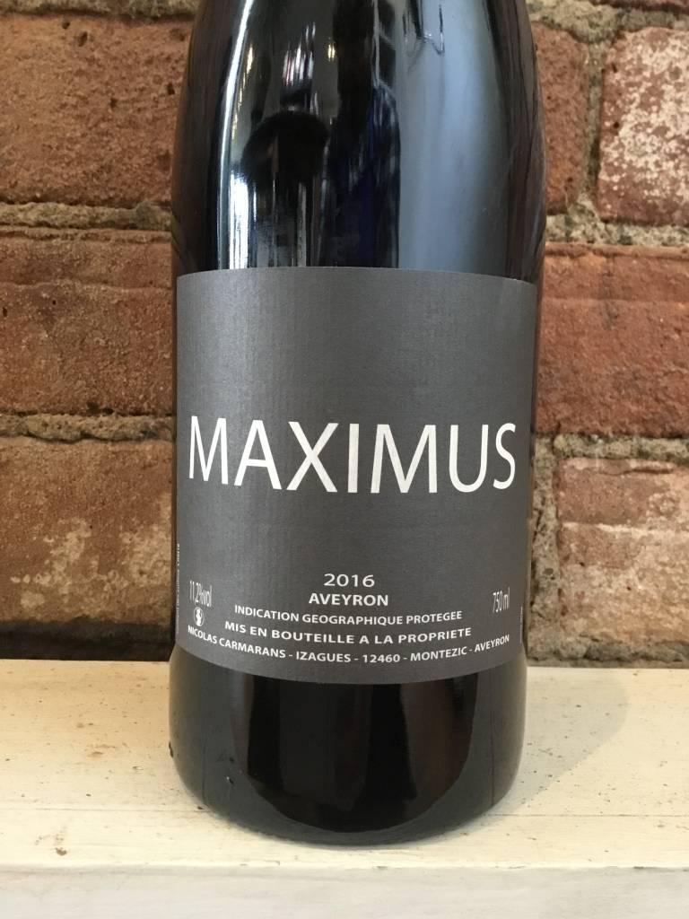 "2016 Nicolas Carmarans ""Maximus"" IGP Aveyron, 750ml"