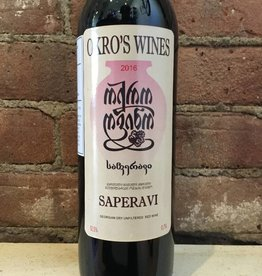 2016 Okro's Wines Saperavi,750ml