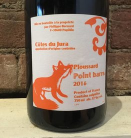 "2016 Bornard Cotes du Jura ""Point Barre"" Ploussard, 750ml"