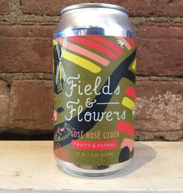 "Graft ""Fields & Flowers"" Gose Rose Cider, 12oz Can"