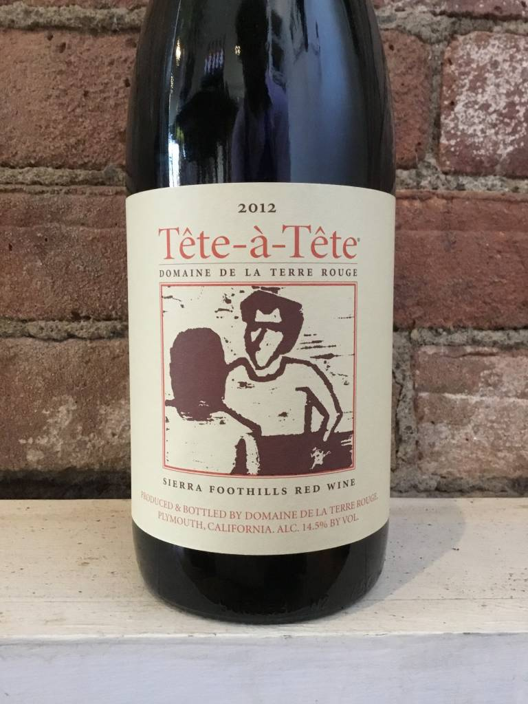 2012 Terre Rouge Tete-a-Tete GSM, 750ml