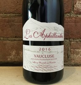 2016 Aphillanthes VdP Vaucluse Rouge, 750ml