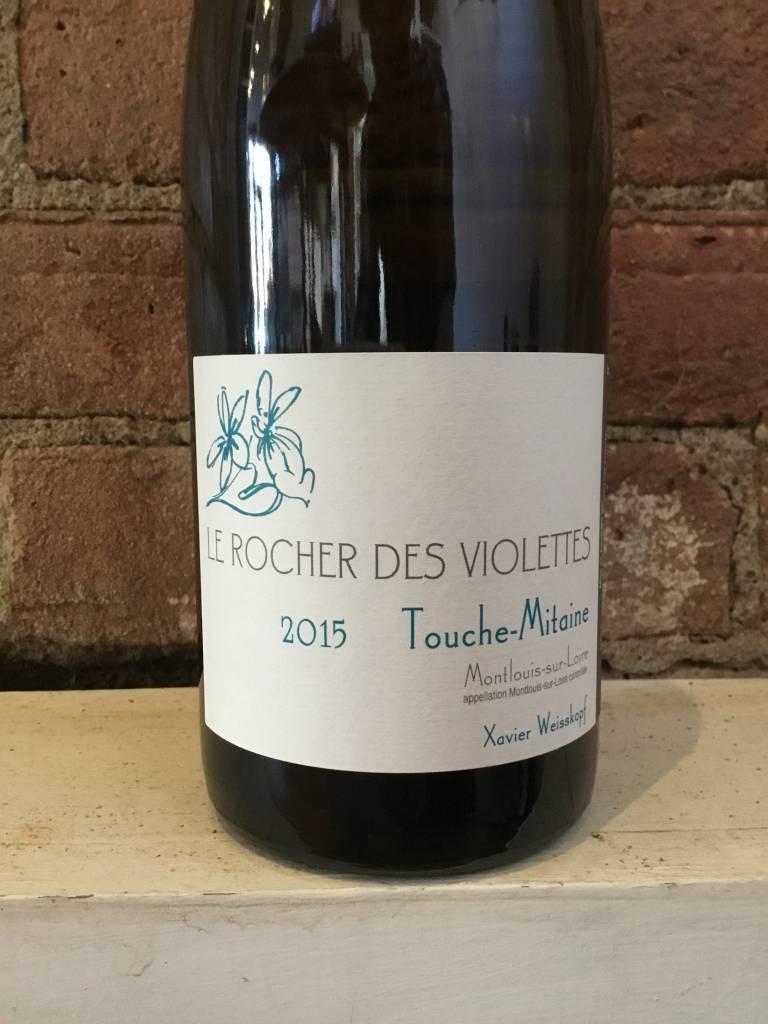 """2015 Le Rocher Voilettes """"Touche-Mitane"""" Montlouis Sur Loire,750ml"""