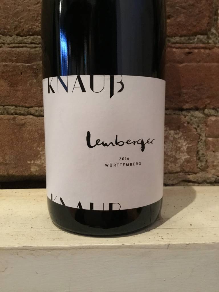 2016 Knauss Lemberger G, 750ml