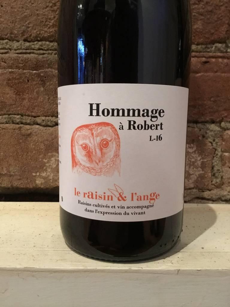 2016 Le Raisin et L'Ange VDF Hommage a Robert Red, 750ml