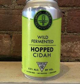 Urban Farm Fermentory Hopped Cidah, 12oz Can