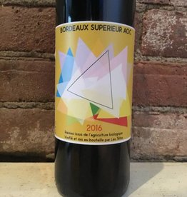 "2016 Les Tetes ""Triangles"" Bordeaux Superieur, 750ml"