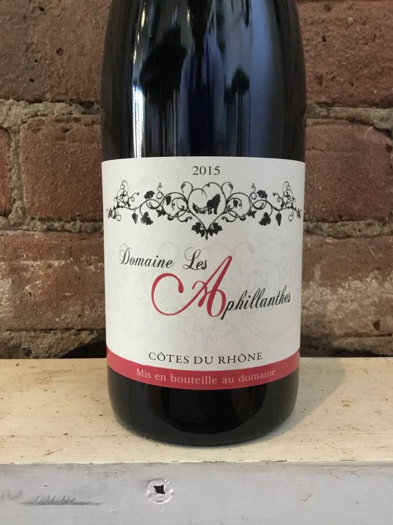 2015 Les Aphillanthes Cotes-du-Rhone Rouge, 750ml