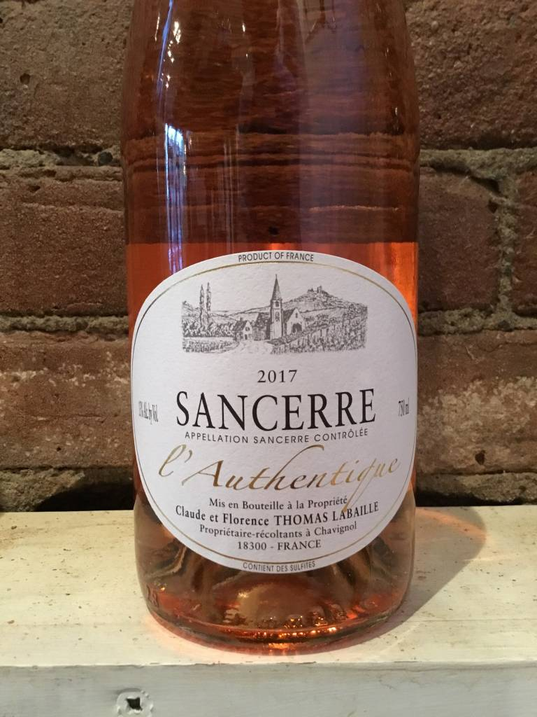 2017 Thomas Labaille Sancerre Rose L'Authentique, 750ml