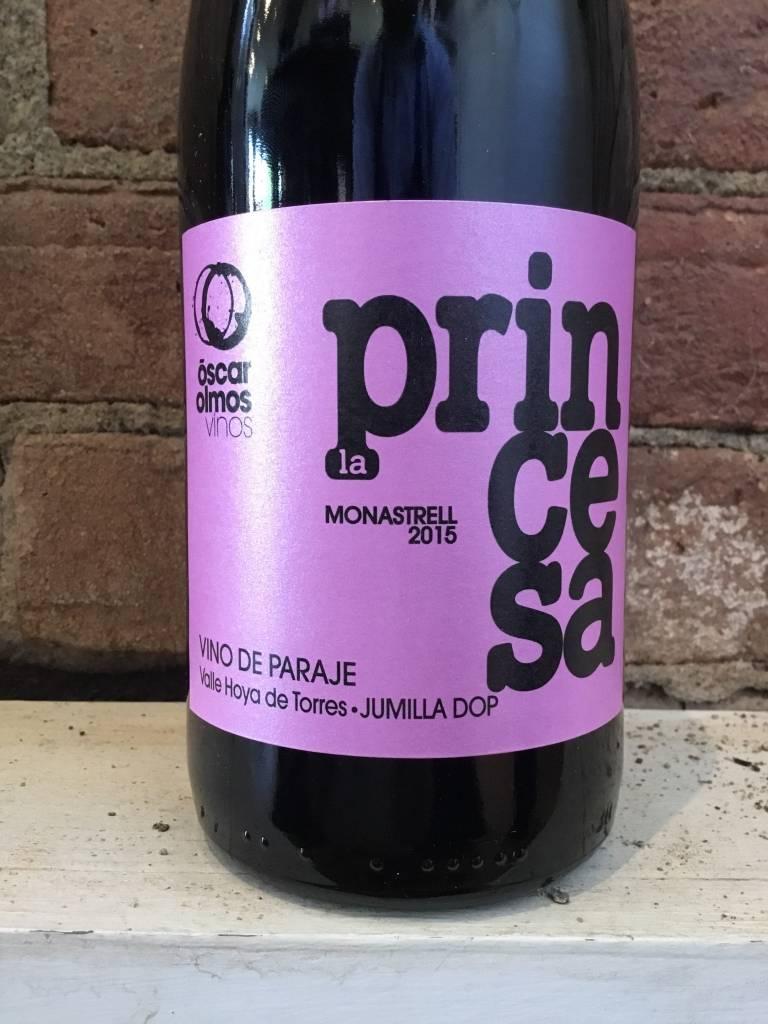 "2015 Oscar Olmos ""La Princesa"" Jumilla Monastrell, 750ml"