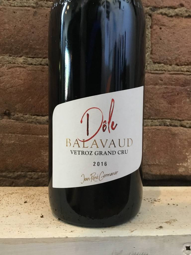 "2016 Jean-Rene Germanier Dole ""Balavaud"" Grand Cru, 750ml"
