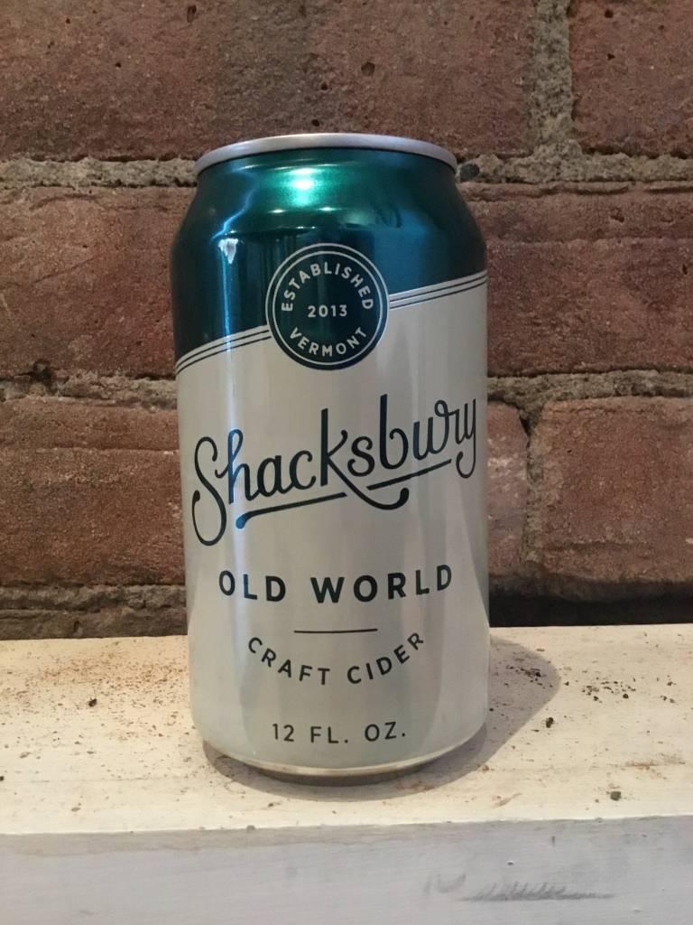 Shacksbury Old World Cider, 12oz Can