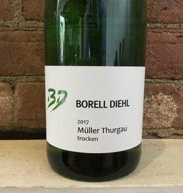 2017 Borell Diehl  Pfalz Muller Thurgau Trocken, 1L
