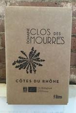 2015 Domaine Clos Des Mourres Cotes du Rhone, 5Liter