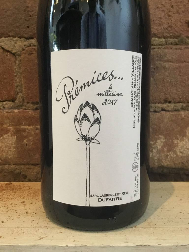 2017 Dufaitre Beaujolais-Village Premices, 750ml