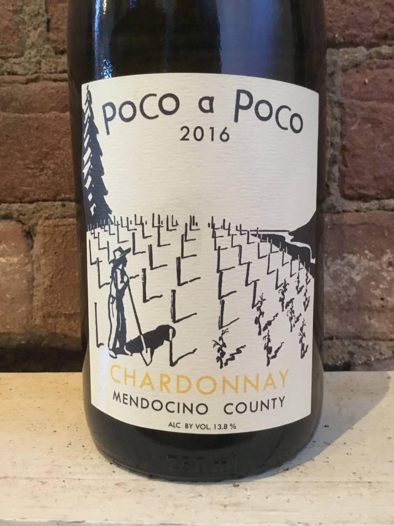 2016 Poco a Poco Chardonnay Mendocino, 750ml