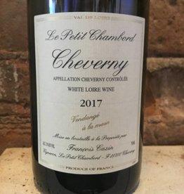 "2017 Cazin "" Petit Chambord"" Cheverny Blanc, 750ml"