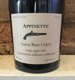 2016 Aaron Burr Appinette, 750ml