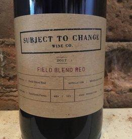2017 Subject To Change Sunhawk Red Field Blend, 750ml