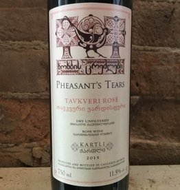 2015 Pheasant's Tears Tavkveri Rose, 750ml