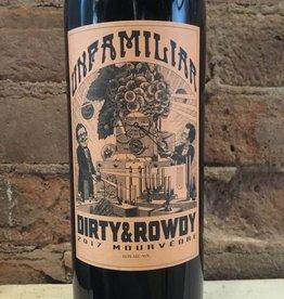 "2017 Dirty & Rowdy ""Unfamiliar"" Mourvedre, 750ml"