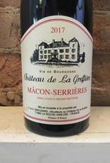 2017 Chateau de La Greffiere Macon-Serrieres, 750ml