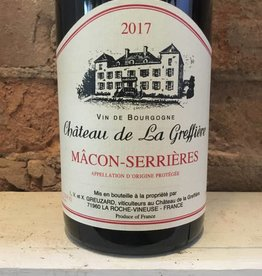 2017 Chateau de La Greffiere Macon-Serrieres, 750ml