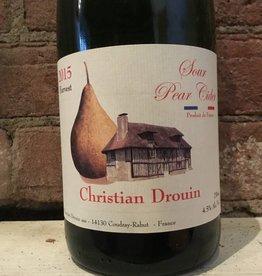2015 Christian Drouin Sour Pear Cidre, 750ml