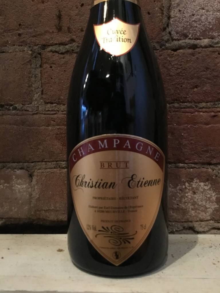 NV Etienne Champagne Brut Cuvee Tradition, 750ml