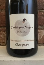 NV Christophe Mignon Blanc de Noirs Pur Meunier Brut Nature,750ml