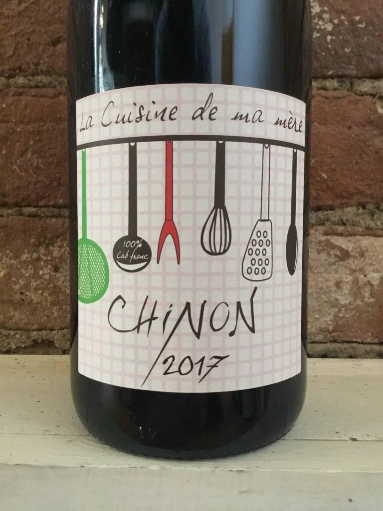 """2017 Grosbois """"La Cuisine de ma Mere"""" Chinon Rouge, 750ml"""