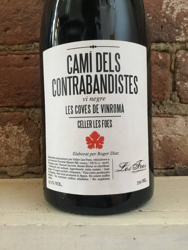 """2016 Cellar Les Foes """"Cami de Contrabandistes"""" Red, 750ml"""